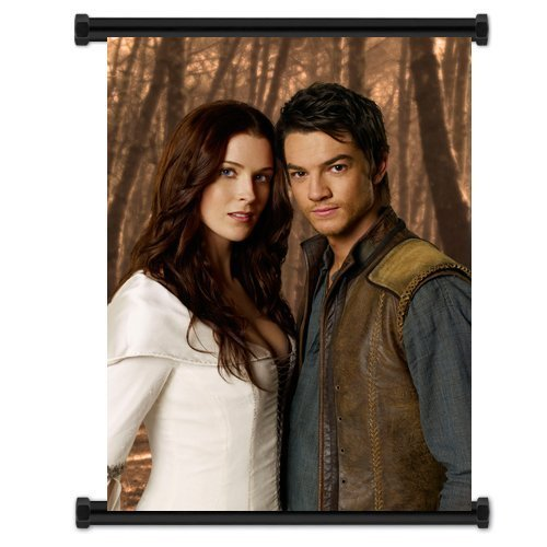 Legend of the Seeker TV Show Fabric Wall Scroll Poster (32
