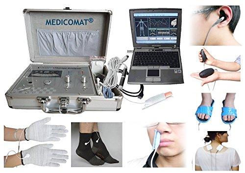 Kalt-laser-therapie (Diabetes-Therapie-Gerät Medicomat-291K Health Check und Behandlung Kalt-Laser Therapie Akupunktur Socken und Handschuhe Größe M)