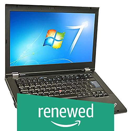(Renewed) Lenovo Thinkpad T420-i7-4 GB-128 GB 14-inch Laptop (2nd Gen Core i7/4GB/128GB/Windows 7/Integrated Graphics), Black