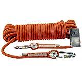Rock climbing ropes Outdoor Corde per Arrampicata su Roccia Fuga Salvataggio di Salvataggio Tende da Uomo Ragno Legate con Corde,Orange-30m*16mm