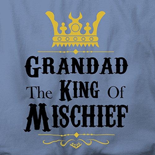 Grummel The King Of Mischief Herren T-Shirt Maroon