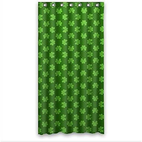 Outer-space fashion design Irish Shamrock,beautiful Shamrock art Bathroom decor 100% Polyester Shower Curtain