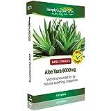 Aloe Vera 6000mg | Favorise la digestion | 120 Comprimés | Simply Supplements