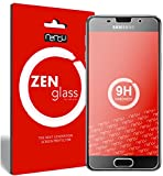 nandu I ZenGlass [2 Stück] Flexible Glas-Folie für Samsung Galaxy A3 2016 Panzerfolie I Display-Schutzfolie 9H I (Kleiner Als Das Gewölbte Display)
