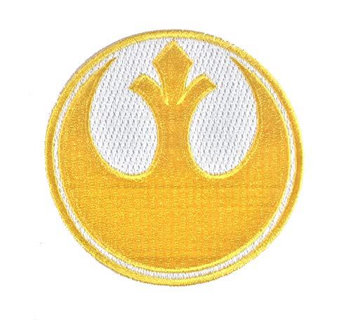 Super6props Star Wars Rebel Alliance Goldgeschwader gesticktes Eisen auf Patch Crew Uniform Patch für Cosplay, Kostüm und Kostüm (Ups Uniform)