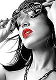 Eurographics FA-FRF1033 - Cuadro decorativo (65 x 92,5 cm), diseño de mujer con labios rojos