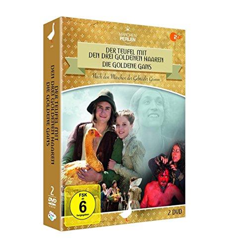 ZDF Märchenperlen - Die Goldbox (inkl. Die Goldene Gans & Der Teufel mit den drei goldenen Preisvergleich