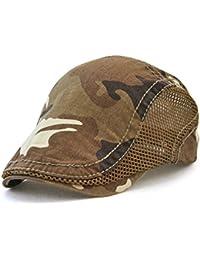 Amazon.it  Marrone - Baschi e berretti   Cappelli e cappellini ... 1c3a28cd5425
