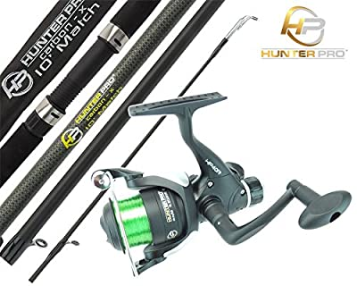 Float Match Fishing Rod & Reel Hunter Pro 10' Carbon Rod & HP40R Rear Drag Reel from Hunter Pro