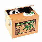 LMTECH Little Panda Money Bank Saving Box Panda Money Box Stealing Coin Panda