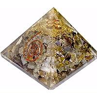 Labradorit Orgonit Pyramid/Reiki Crytsal Pyramiden zur Heilung und Chakra Home Dekoration 65mm mit Tasche preisvergleich bei billige-tabletten.eu
