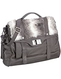 Mexx Removable Fur Schoolbag 3FRE1683, Damen Business Taschen 41x28x14 cm (B x H x T)