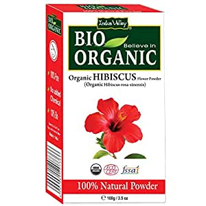 Buy Indus Valley Organic Hibiscus Powder 100 Grams Online At Low