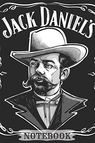 """Preisvergleich Produktbild NOTEBOOK: Jack Daniel's Notebook (Journal,  Diary),  Retro Style Notebook and Drawing Comics,  Vintage Notebook / 110 Lined pages,  6"""" x 9"""" (Retro Journals)"""