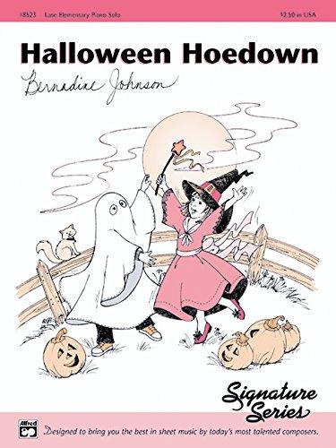 Halloween Hoedown: Sheet
