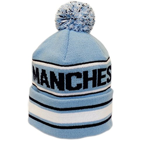 Knitted Bronx Bobble Hat Selection (Manchester City) 1d65fe76a572