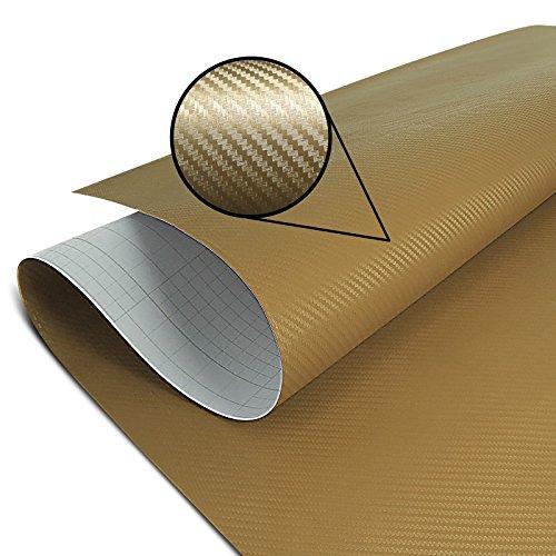 Wrapping Schutzfolie Carbon gold 75x100cm Honda Africa Twin XRV 650 XRV650/ 750, CB 500 F/ X, CBR 1000 RR Fireblade/ SP/ SP-2, CBR 125 R/ 250 R/ 300 R/ 500 R, CBR 600 F/ RR, CBR 650 F