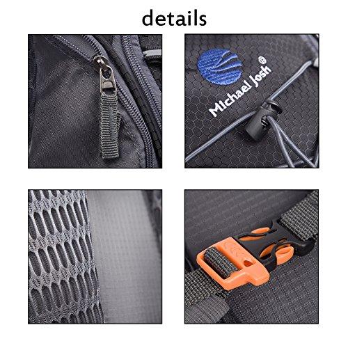 Hydration Rucksack Trinkrucksack(12L) mit Trinkblase(2L) Pack,Trinksystem Backpack - 7