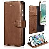 zanasta 4251485118452Coque pour Apple iPhone 8Plus/7Plus, 14cm, Marron (5,5Pouces)
