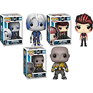 Funko POP Ready Player One Parzival Art3mis Aech Stylized Vinyl Figure Bundle Set NEW