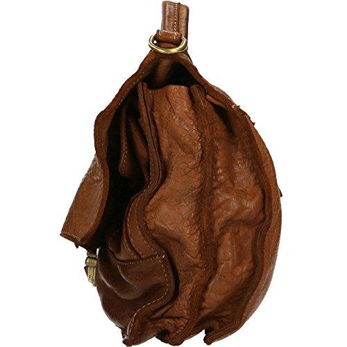 Portadocumenti da Uomo a mano Chicca Borse Vintage in Vera Pelle Made in Italy 30x26x10 Cm Marrone Finishline Línea Barata qGQb5s7X7n