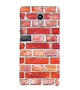 EPICCASE Brick wall Mobile Back Case Cover For Meizu M2 (Designer Case)