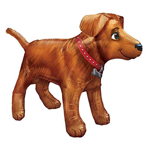 PARTY DISCOUNT Neu Folienballon Hund Labrador, 91x60 cm (Hunde Ballon Kostüm)