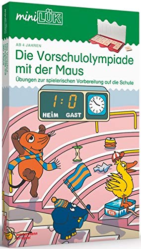 miniLK-Sets-Kasten-bungshefte-miniLK-Set-KindergartenVorschule-Die-Vorschulolympiade-mit-der-Maus miniLÜK-Sets: miniLÜK-Set: Kindergarten/Vorschule: Die Vorschulolympiade mit der Maus -