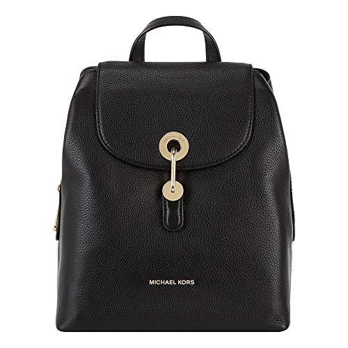 Michael Kors MICHAEL by Raven Black Leather Backpack Einheitsgroesse Schwarz