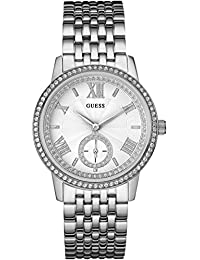 Guess Damen-Armbanduhr Ladies Dress Analog Quarz Edelstahl W0573L1