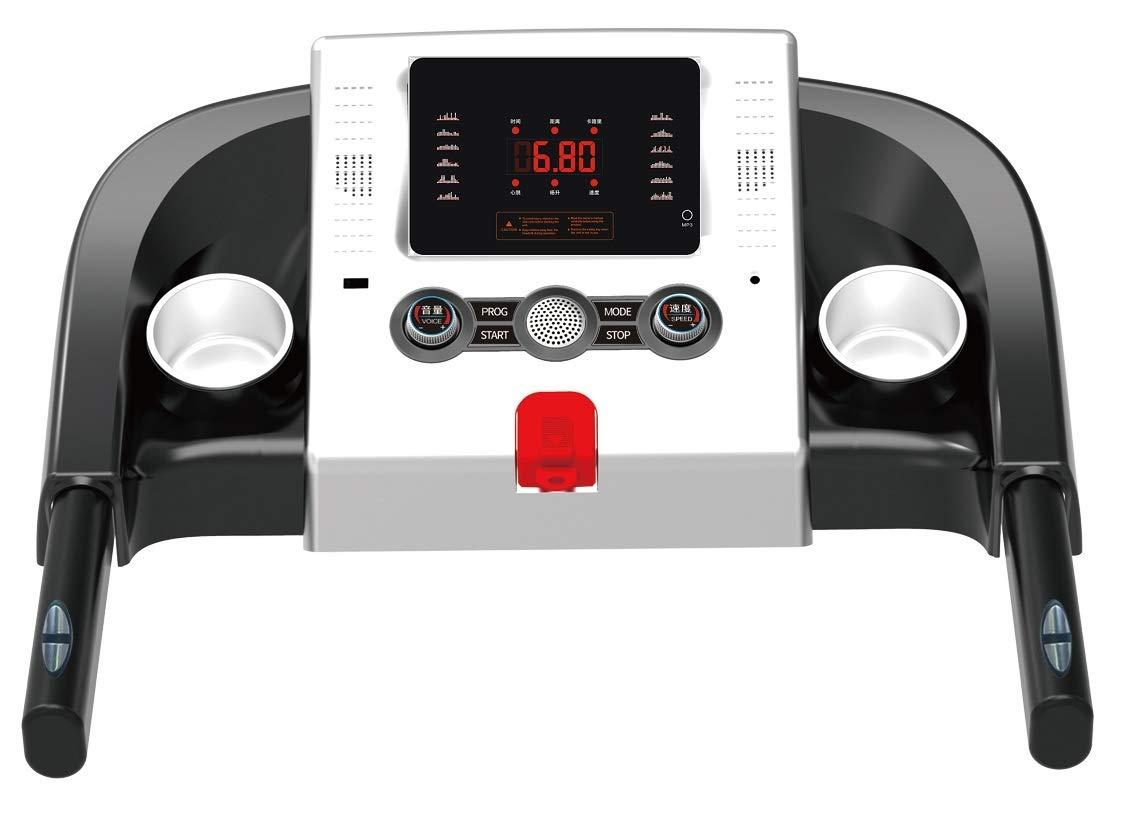 Tapis ROULANT Elettrico 1 HP 1000W Top di Gamma con Bluetooth ED App Lettore MP3 E USB 4 spesavip