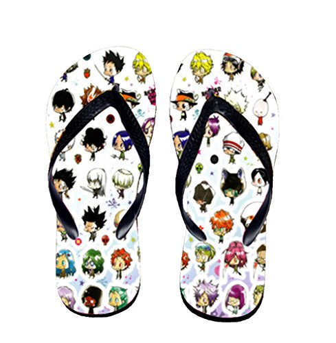 Bromeo Hitman Reborn Anime Unisex Flip Flops Zehentrenner Flip Pantoffeln 626