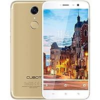 CUBOT Note Plus 4G Smartphone - Android 7.0 HD, 5.2 '' MTK6737T 1.5GHz Quad Core 3Go RAM + 32 Go ROM 4150mAh Batterie Double Caméra 13.0MP + 13.0MP Double SIM Empreinte Digitale (Or)
