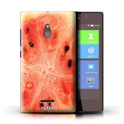 Kobalt® Imprimé Etui / Coque pour Nokia XL / Fraise conception / Série Fruits Melon d'eau