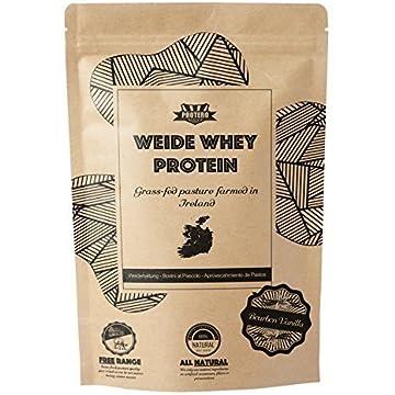 Whey Protein von grasgefütterten Rindern