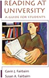 Reading at University: A Guide for Students