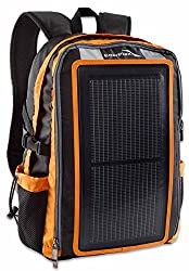 GoEnerplex Solar Backpack Packr, Orange, PK-ALPHA-OR