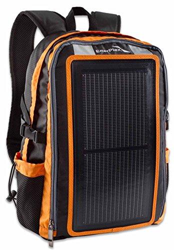 EnerPlex Packr Sac à dos avec chargeur solaire USB 30 l Orange - orange