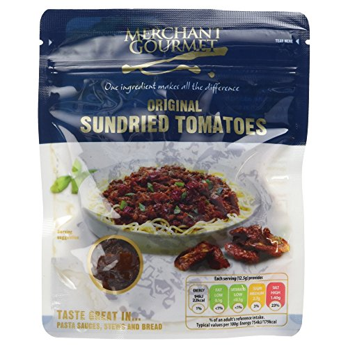 Merchant Gourmet Sun Dried Tomatoes 100 g (Pack of 6) Test
