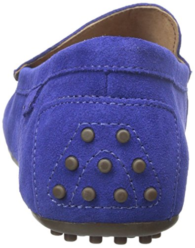 Polo Ralph Lauren Woodley Suede Slip-on Mocassins blue