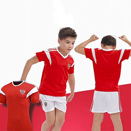 e708ef888 TOOGOO Family Breathable Sportswear Soccer Set World Cup Russia Soccer  Jerseys Uniforms Children Football Kit Shirt