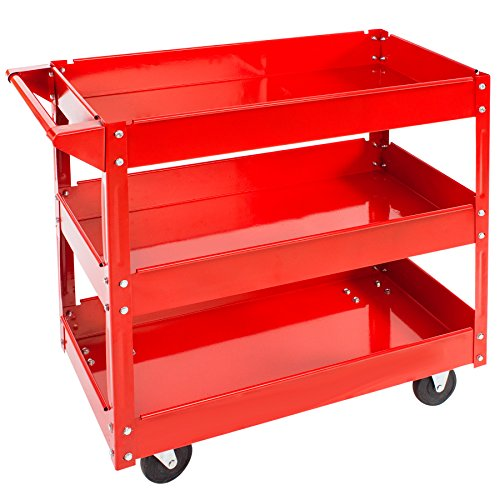 TecTake TecTake Workshop tool trolley with 3 levels Test