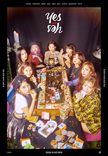 TWICE [YES or YES] 6th Mini Album RANDOM CD+PhotoBook+5p PhotoCard+1p Yes or Yes Card+Tracking Number K-POP SEALED