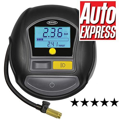 Ring Automotive RTC1000 Rapid Digital Tyre Inflator, Preset