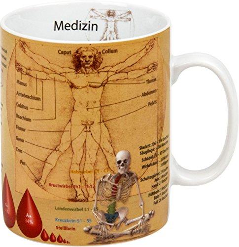 Könitz K1153301709 Kaffeebecher Wissensbecher Medizin