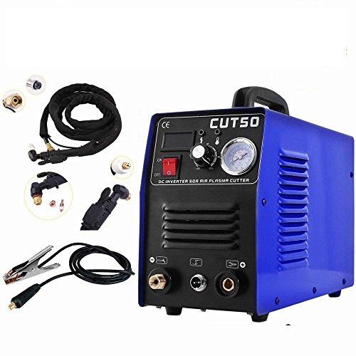 COMOTS CUT50 Plasma Schneider 50 Amp schneidet Bis 12mm Plasma CUT Inverter Schweißgerät Plasma Ausschnitt Maschine Plasmaschneider Cutting Cutter 230V