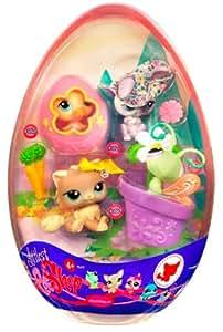 Hasbro poup e littlest petshop oeuf de p ques lapin chat canard et papillon - Petshop papillon ...