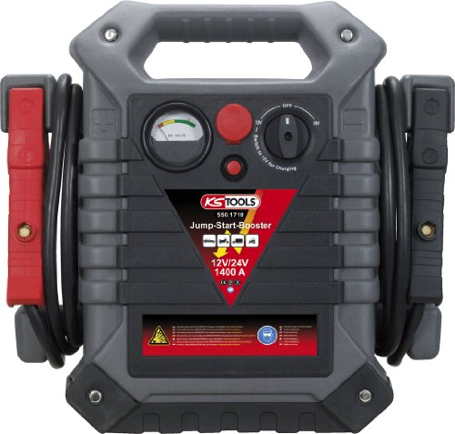 KS Tools 550.1720 Booster à batterie 12/24 V jusqu'à 1400 A