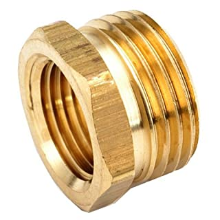 ANDERSON METALS CORP - 3/4-Inch Male Garden Hose x 3/4-Inch Female Iron Pipe Brass Adapter