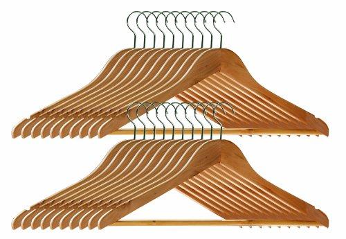 premier-housewares-percha-20-unidades-revestimiento-de-madera